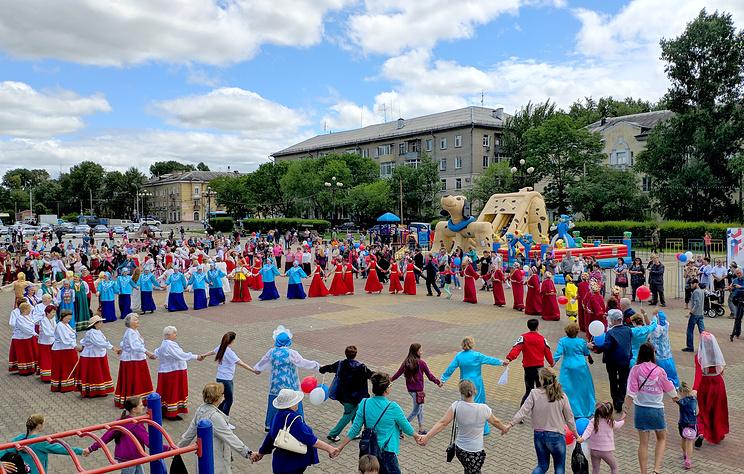 В регионах Дальнего Востока празднуют День России