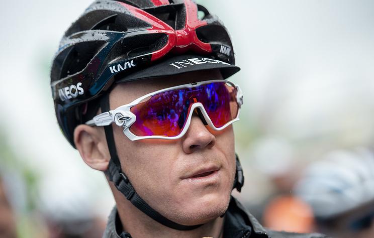 """Британец Фрум может пропустить """"Тур де Франс"""" после падения в гонке во Франции"""