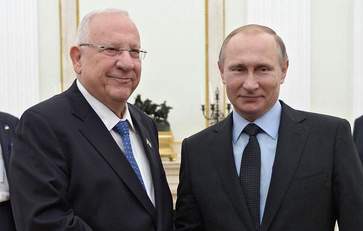 В Израиле заявили, что ждут Путина с визитом в январе 2020 года