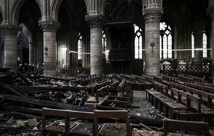 СМИ: из обещанных пожертвований на собор Парижской Богоматери внесены только 9%