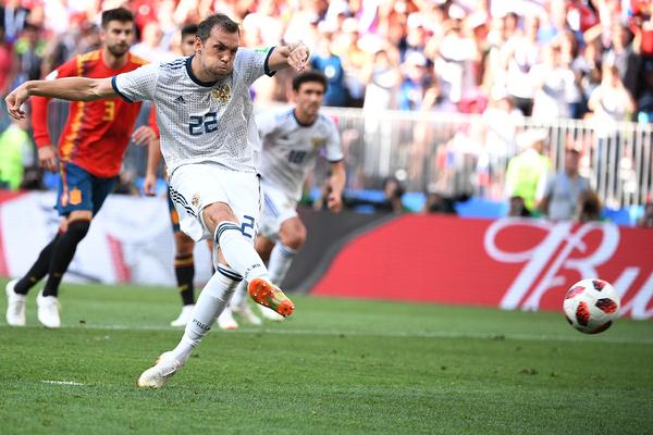 Дзюба вспомнил о пенальти в ворота Испании на ЧМ-2018