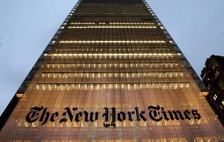 В The New York Times отвергли обвинения со стороны Трампа в госизмене