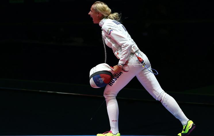 Российские фехтовальщики заняли первое место в медальном зачете чемпионата Европы