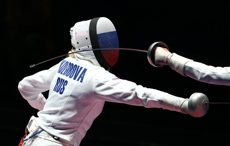 Российские шпажистки завоевали серебро чемпионата Европы по фехтованию