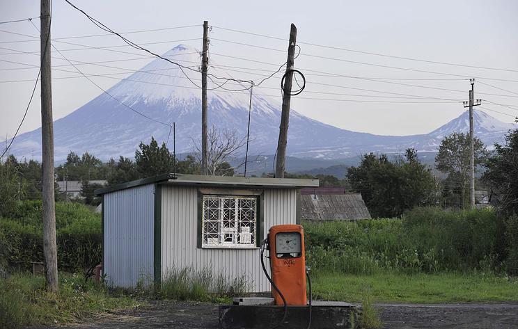 Извержение вулкана Ключевского началось на Камчатке