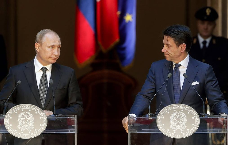 Конте: Россия может играть ключевую роль в разрешении региональных кризисных ситуаций