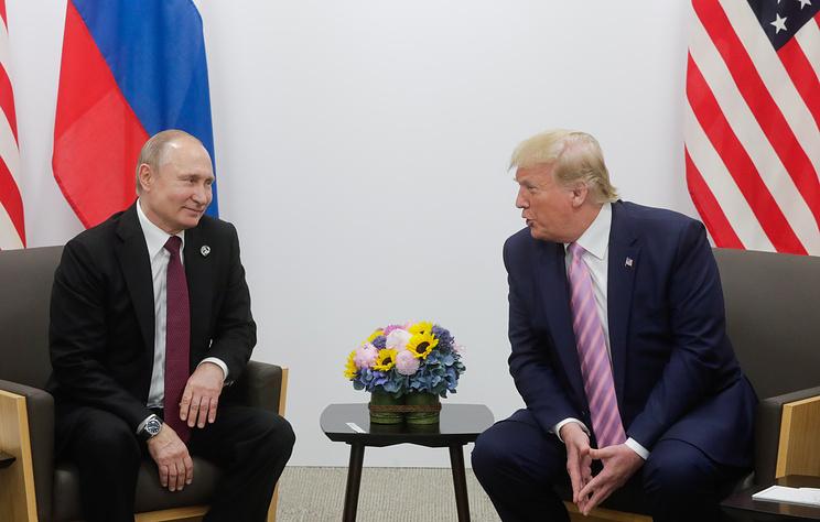 МИД России: в США пытаются навредить результатам встречи Путина и Трампа