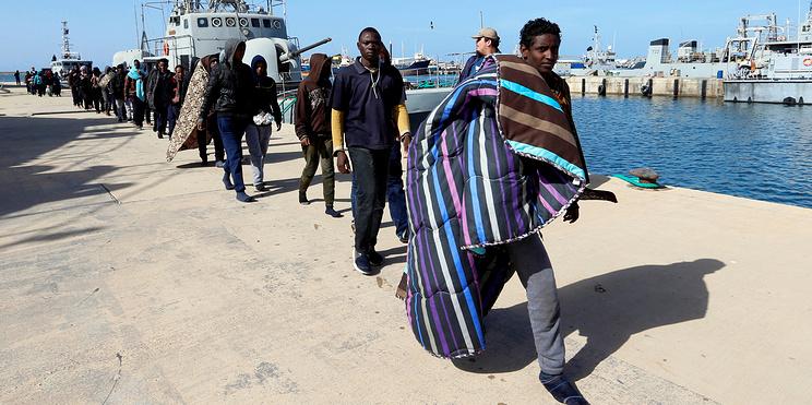 800 тысяч заложников: гуманитарный кризис у берегов Европы