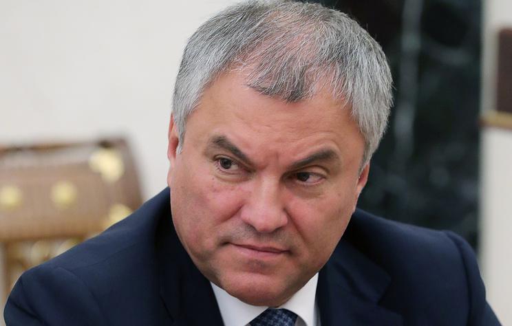 Володин: экономические меры в отношении Грузии носят профилактический характер