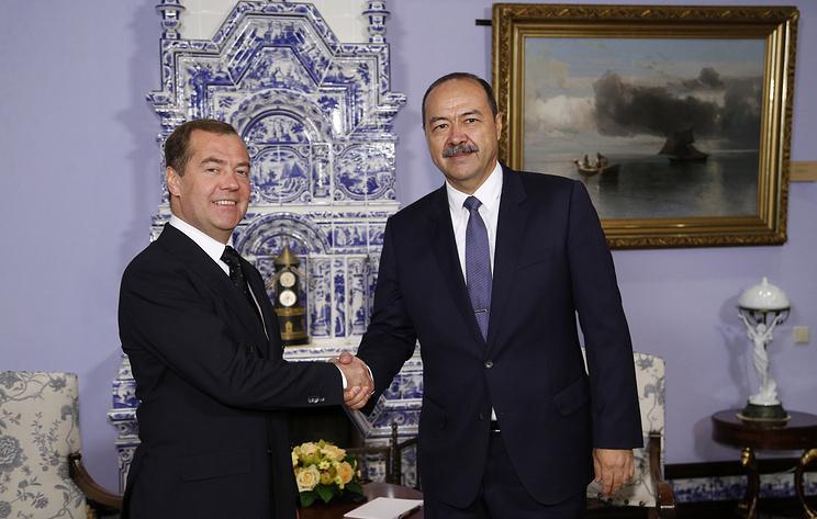 Медведев: Россия и Узбекистан настроены на тесное сотрудничество