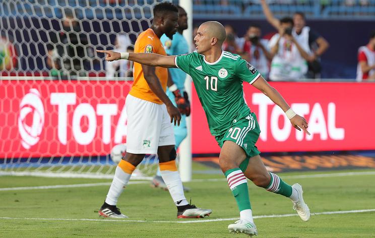 Сборная Алжира по футболу вышла в полуфинал Кубка африканских наций