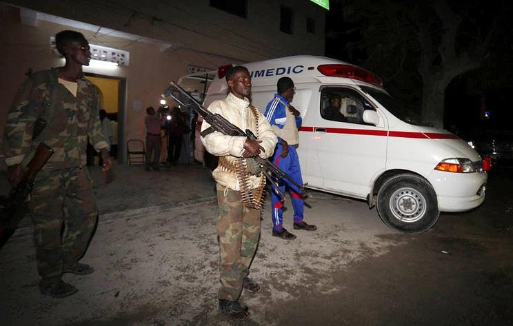 Reuters: число погибших при атаке на отель в Сомали возросло до 13