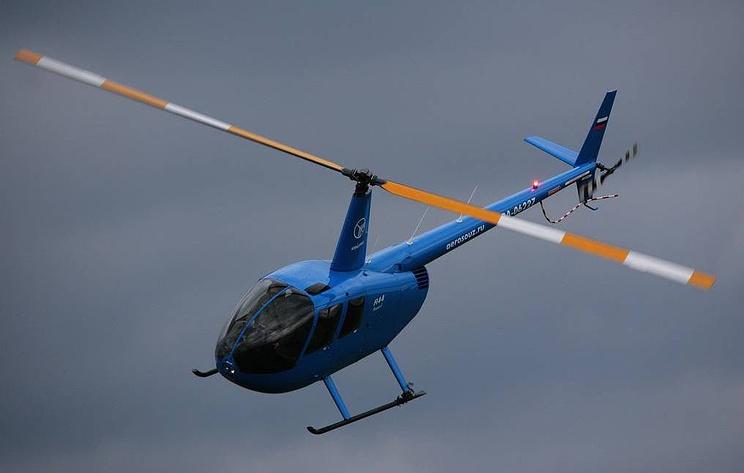 Вертолет Robinson упал около Солнечногорска