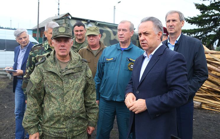 Мутко: восстановительные работы после паводка в Иркутской области завершатся до 19 июля