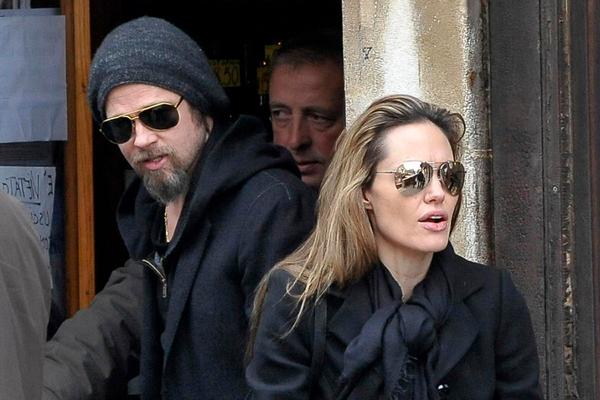 Анджелина Джоли разрешила Брэду Питту забрать детей