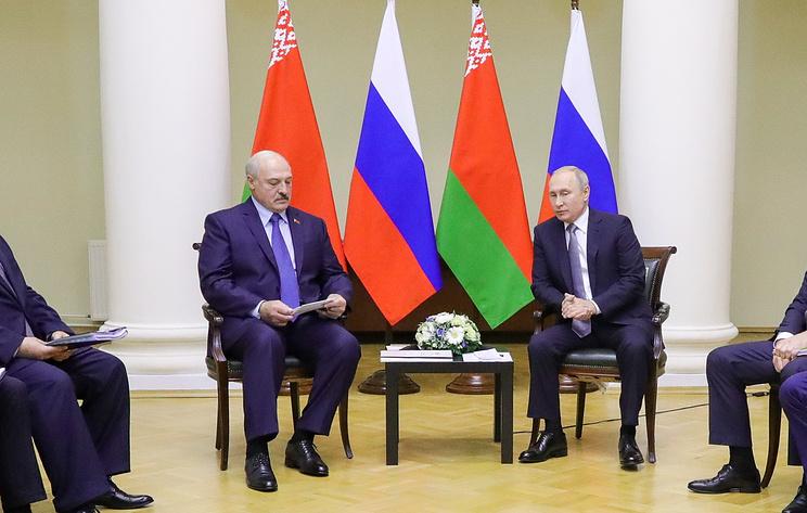 Путин и Лукашенко на Форуме регионов России и Белоруссии. Видеотрансляция