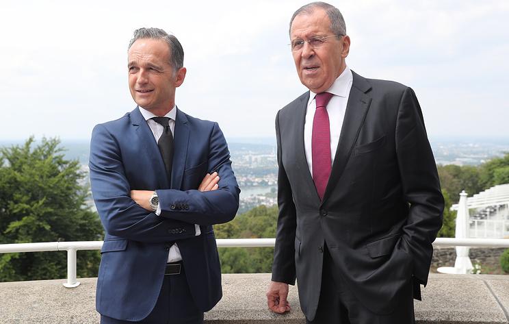 Главы МИД России и ФРГ проводят пресс-конференцию. Видеотрансляция