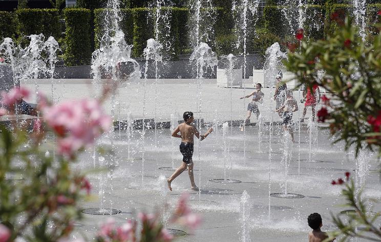 Французские синоптики зафиксировали самую высокую за всю историю страны температуру