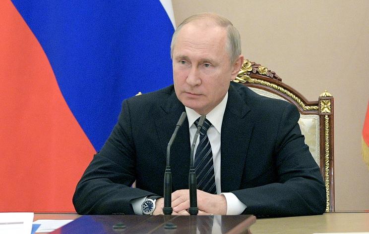 Путин поручил кабмину усовершенствовать маркировку информпродукции