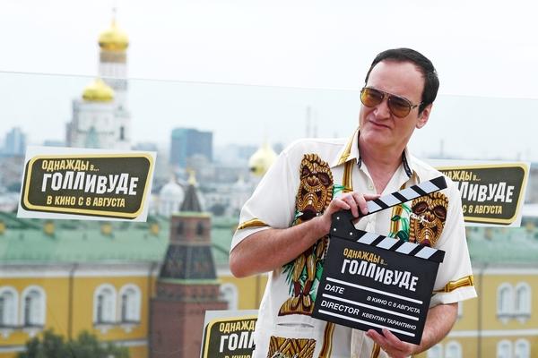 Появились подробности прогулки Тарантино по Кремлю