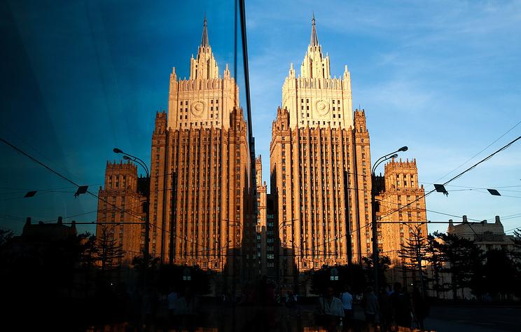 МИД России сделал представление дипломату США за публикации об акции в Москве 3 августа