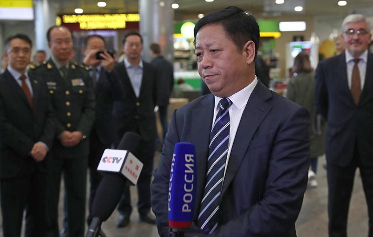 Новый посол КНР в РФ Чжан Ханьхуэй прибыл в Москву