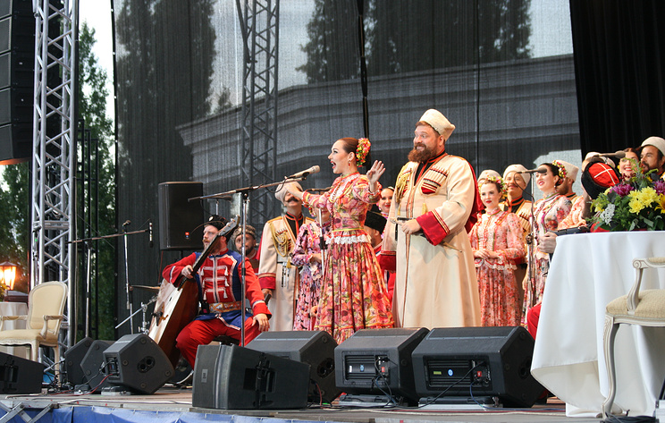 """Хоровой фестиваль """"Песни над Цной"""" в Тамбове собрал более 15 тыс. зрителей"""