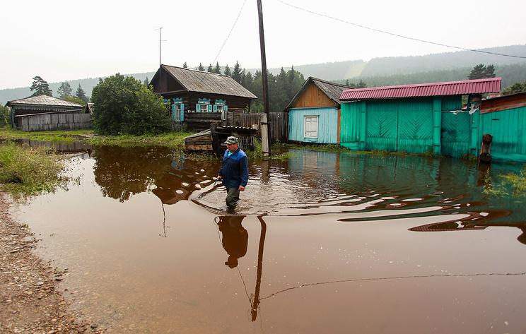 Пострадавшими от паводка в Иркутской области признаны 45 тыс. человек