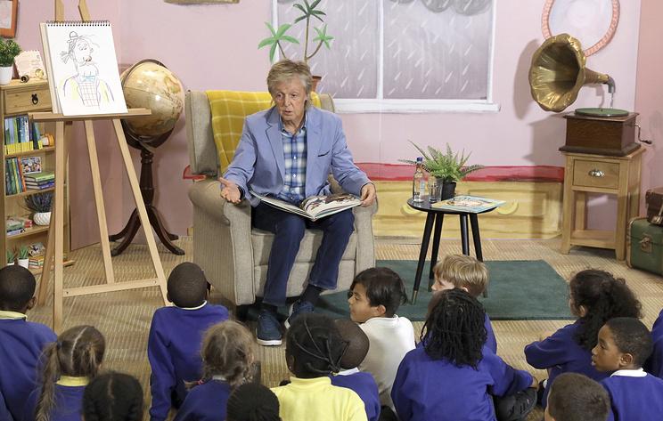 Пол Маккартни представил в Лондоне свою книгу для детей