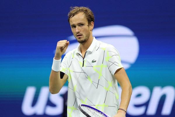 Медведев вышел в финал турнира «Большого шлема»