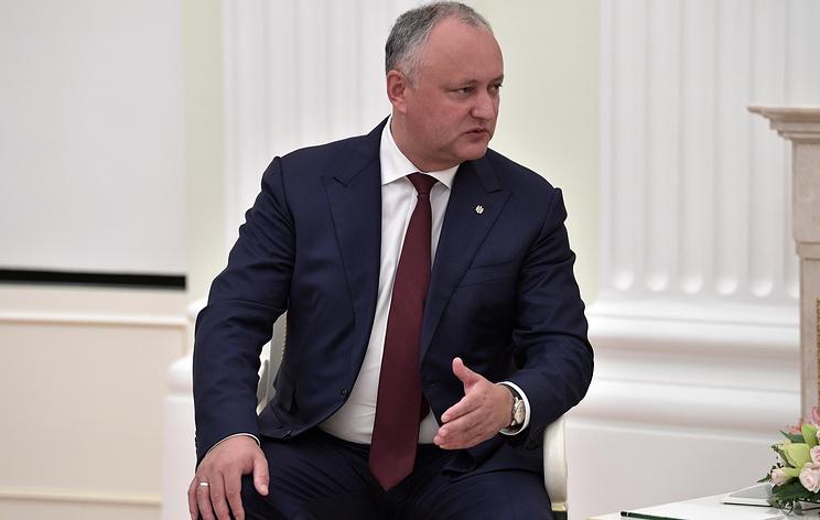 Додон заявил, что Молдавия и Россия договорились о снижении цены на газ