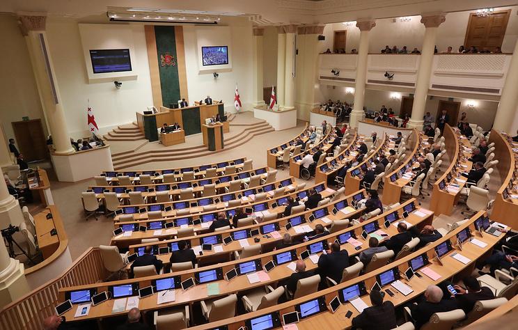 Парламент Грузии выразил доверие новому правительству