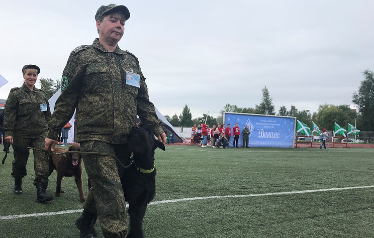 Карелия первой в России приняла крупные международные соревнования таможенных кинологов
