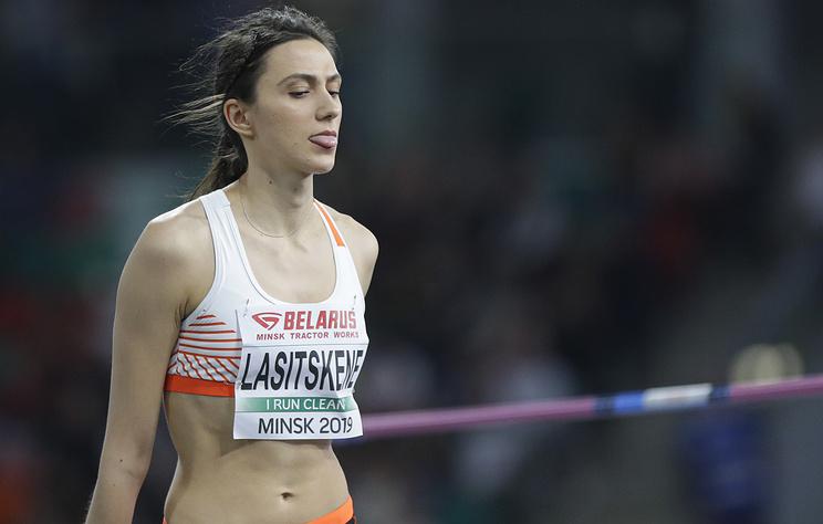 Ласицкене впервые с января не смогла одержать победу в соревнованиях по прыжкам в высоту