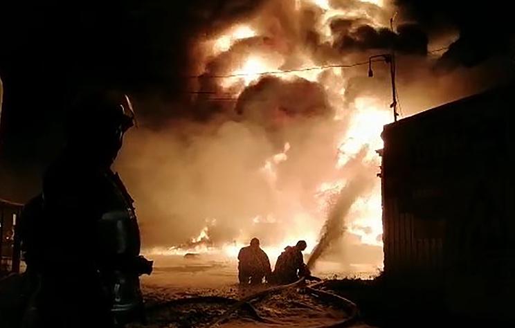Пожар на складе ГСМ в Нижегородской области полностью потушен