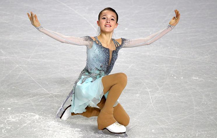 Чемпионка России по фигурному катанию Щербакова победила на турнире в Италии