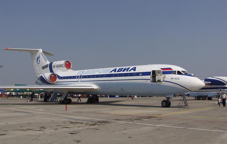 Самолет Як-42 сел в аэропорту Красноярска из-за технической неисправности