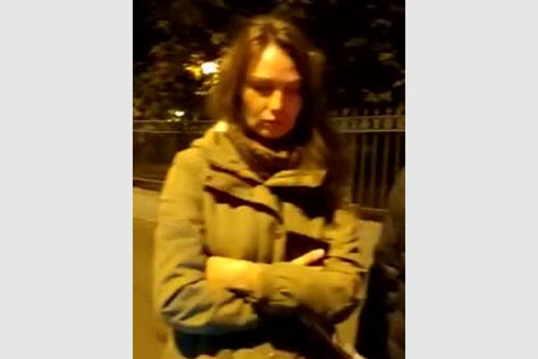 Опубликовано еще одно видео задержания актрисы Бочкаревой с кокаином