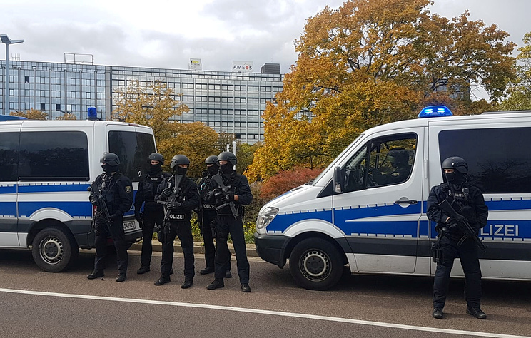 Полиция задержала одного из подозреваемых в стрельбе на востоке Германии