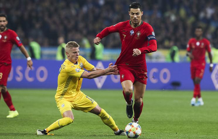 Сборная Украины обыграла команду Португалии и досрочно вышла на ЧЕ-2020