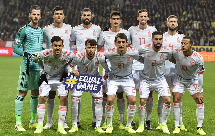 Сборная Испании по футболу досрочно вышла на чемпионат Европы 2020 года