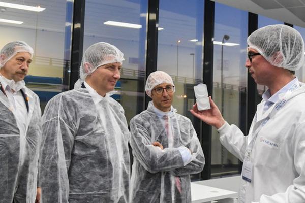 Подмосковная делегация посетила исследовательский центр Coexpan