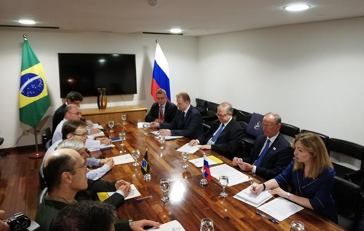Россия считает важным наращивать взаимодействие с Бразилией в сфере безопасности