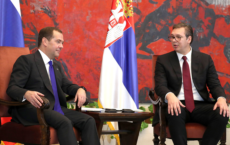 Бороться с искажением истории. Медведев в Сербии призвал сохранять правду о Второй мировой