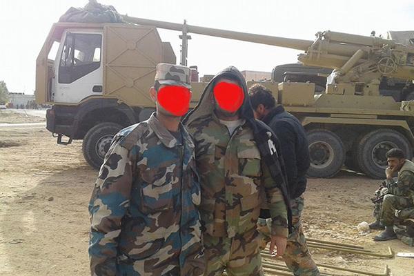 Сирийцы отправили артустановки на поддержку «танкового спецназа»