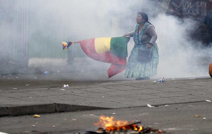 СМИ: число погибших в ходе протестов в Боливии увеличилось до 10