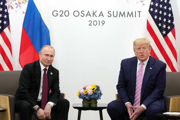 Путин отреагировал на возможный приезд Трампа на Парад Победы