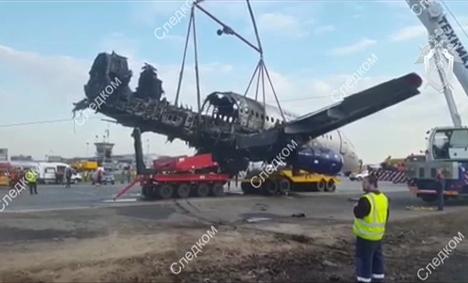 Назван виновник катастрофы SSJ-100 в Шереметьево
