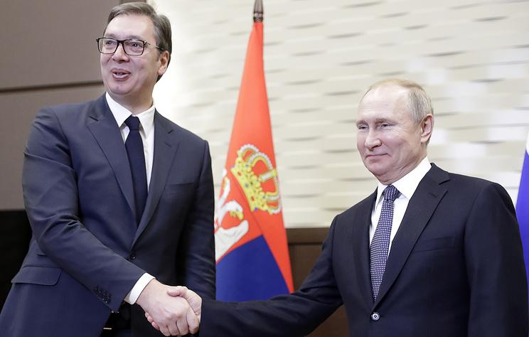 Путин: партнерство РФ и Сербии подтверждается ежедневной работой в различных сферах