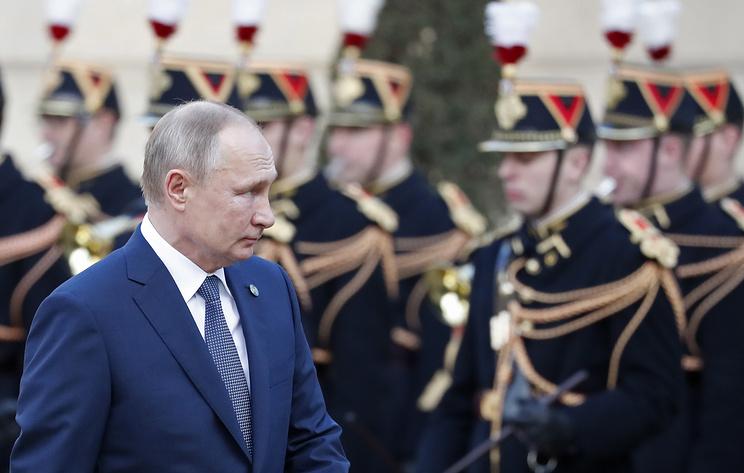 """Путин заявил, что доволен результатами саммита """"нормандской четверки"""""""